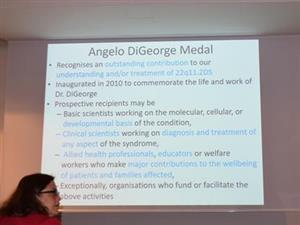 Information on the DiGeorge Medal