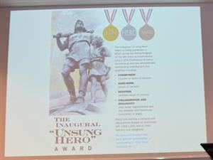 Information on the Unsung Hero Award