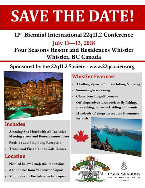 Whistler 2018 Save the Date